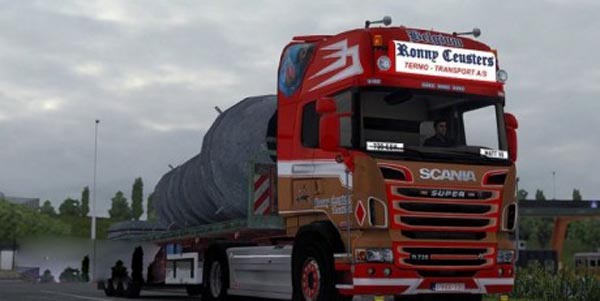 Ronny Ceusters Skin for Scania R2009