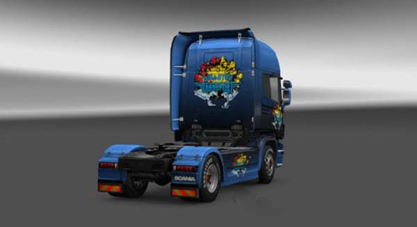 Scania Disaster Transport Skin