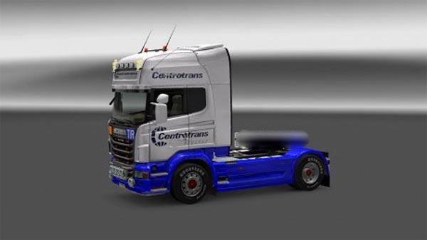 Scania R 2009 Centrotrans skin