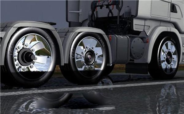 Scania Stax wheels for all trucks for ETS 2