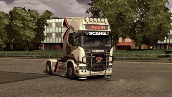 Scania StreamLineDivar BV Reworkpaint