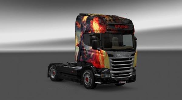 Scania Streamline Brand Skin
