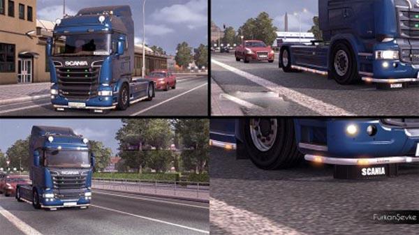 Scania Streamline Low Chassis + foglights