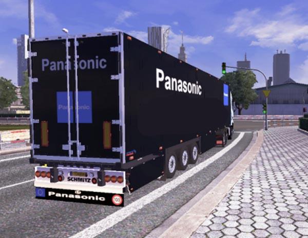 Schmitz Trailer Panasonic Skin