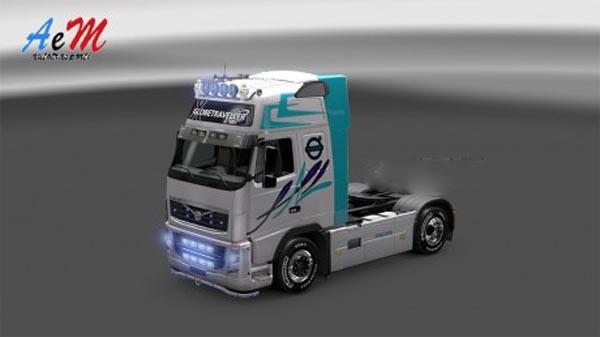 Skin for Volvo