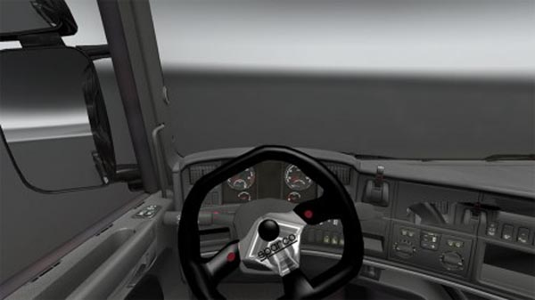 Sparco steering wheel for Scania