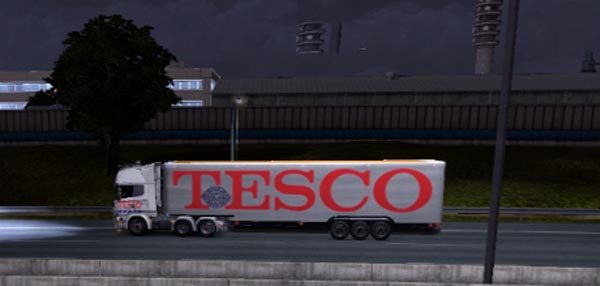 Tesco Trailer Skin