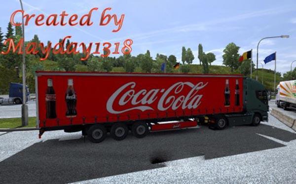 Trailer ProfiLiner Coca-Cola