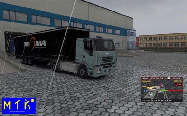Trailer Tegma Logistic