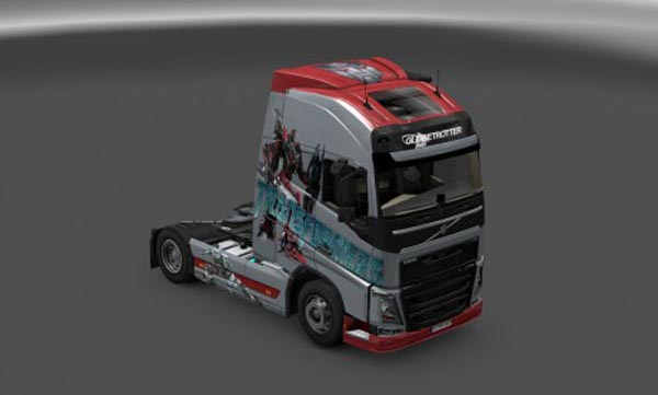 Transformers skin for Volvo FH