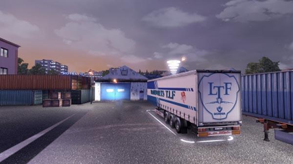 Transports T.L.F Trailer Skin