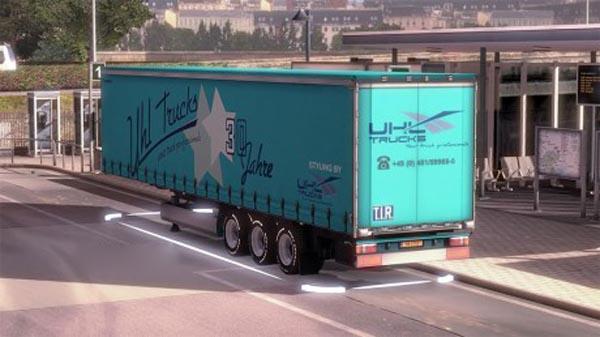 UHL Trucks KRONEProfiLiner Trailer Skin