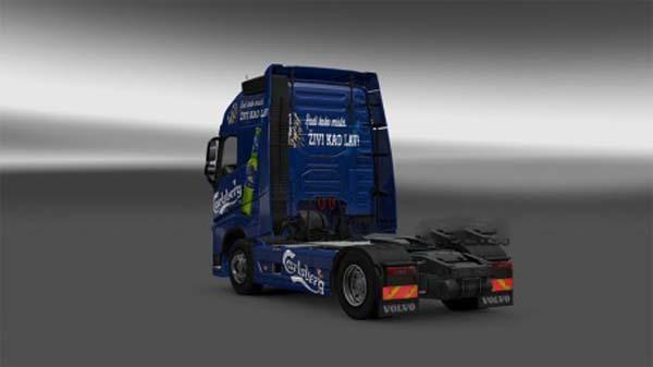 Volvo 2012 Carlsberg Serbija skin