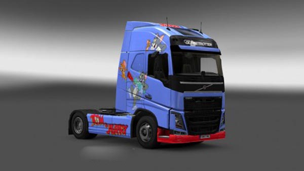 Volvo FH 2012 Tom & Jerry Skin