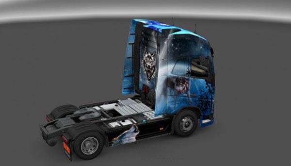 Volvo FH 2012 Wolf Skin
