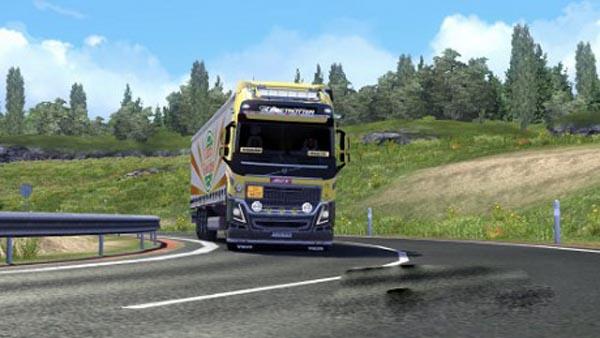 Volvo skin line