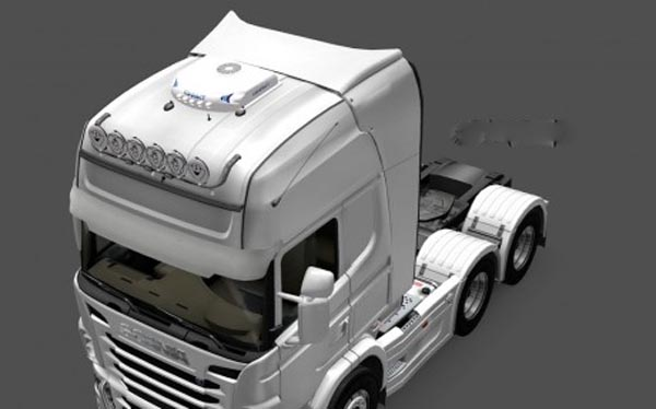 Air-conditioner COMPACT for all trucks