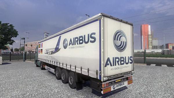 Airbus A380 Trailer Skin