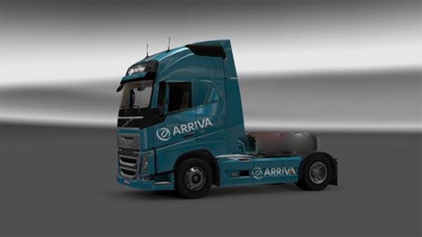 Arriva Volvo 2012