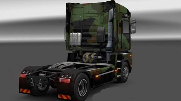 Camo skin for Renault Magnum