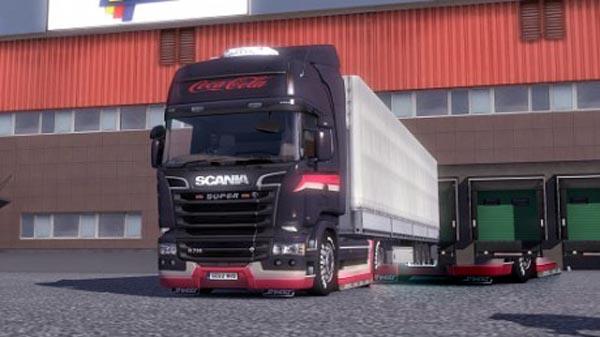 CocaCola Scania Streamline paintjob