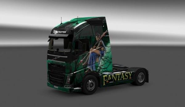 Fantasy skin for Volvo FH