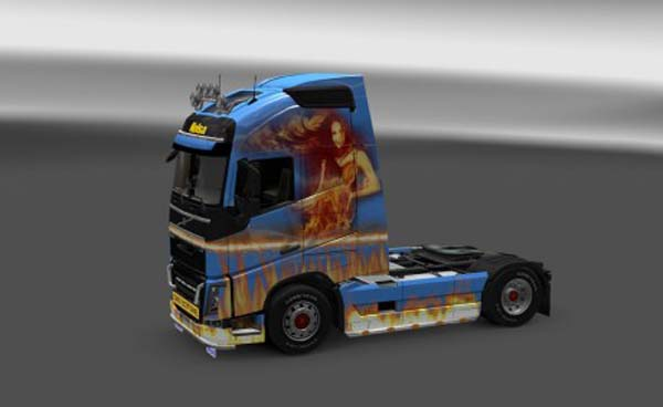 Fire skin for Volvo FH