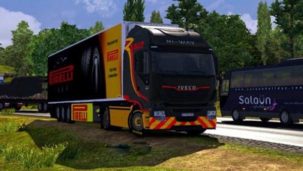 Iveco Hi Way Pirelli Skin