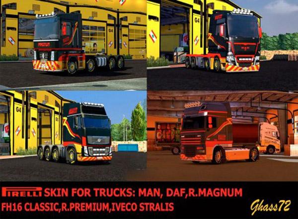 Pirelli skin for trucks