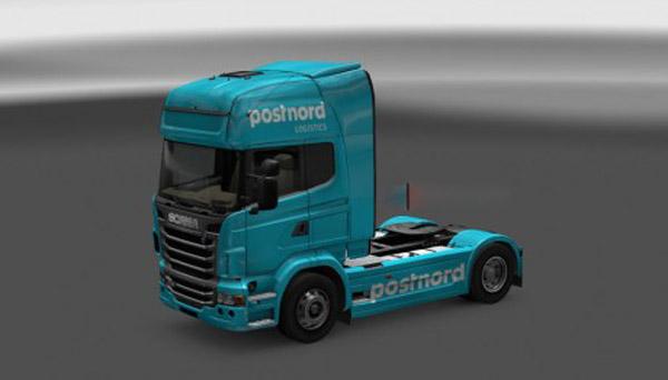 Postnord Scania R skin