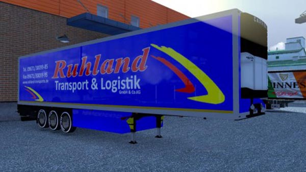 Ruhland Transporte Lamberet Trailer