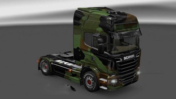 Scania Streamline Camo Skin