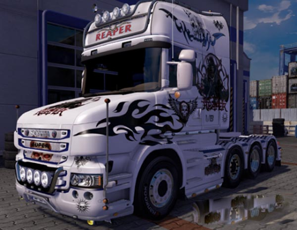 Scania T Reaper Skin