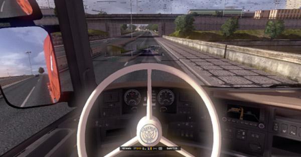 Scania T Vabis Stearing Wheel