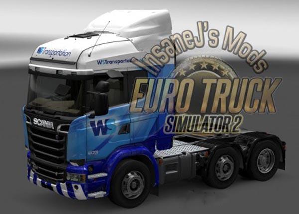 Scania WS Transportation Skin