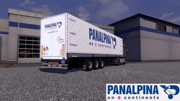 Schmitz Panalpina Trailer Skin