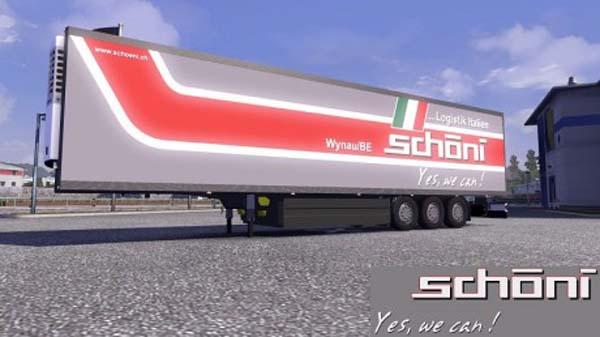 Schoeni Coolliner Trailer