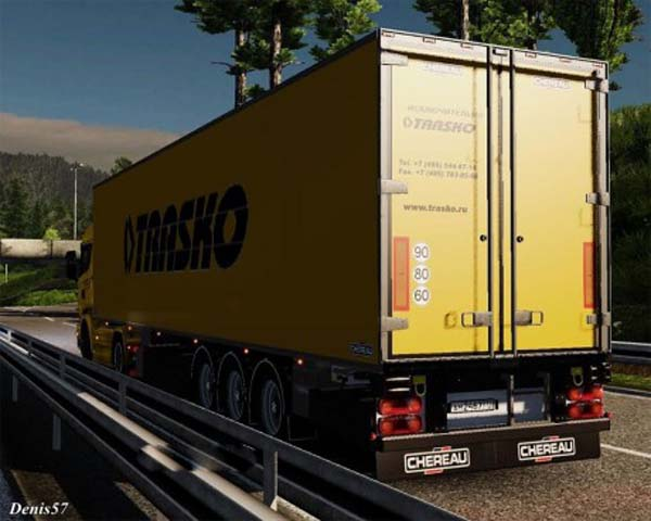 Skin Trasko for Scania Streamline + refrigerator