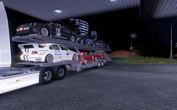 Sport Cars Transport Trailer