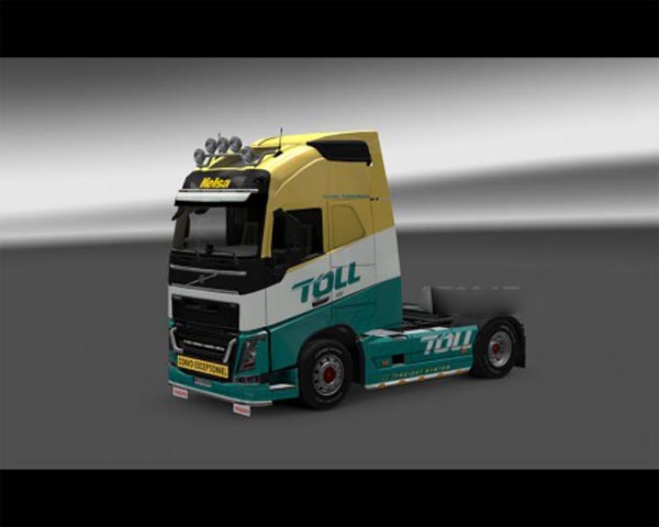 Toll skin for Volvo FH
