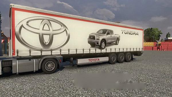 Toyota Truck Trailer Skin