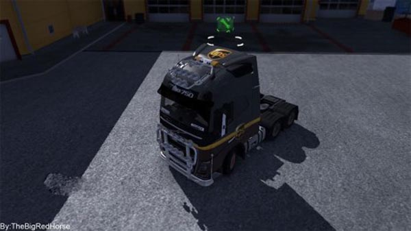 UPS Skin for the Volvo FH16 2012