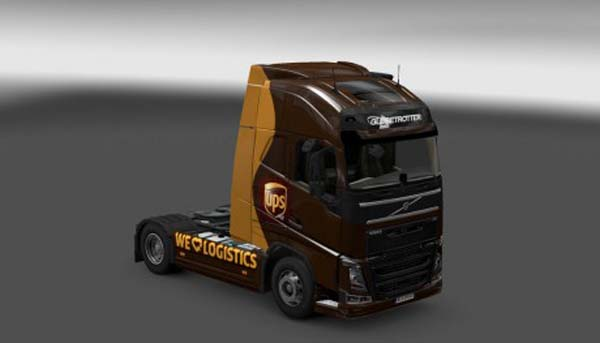 Ups skin for Volvo FH