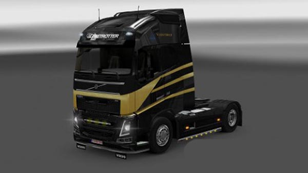 Volvo 2012 Black Gold skin