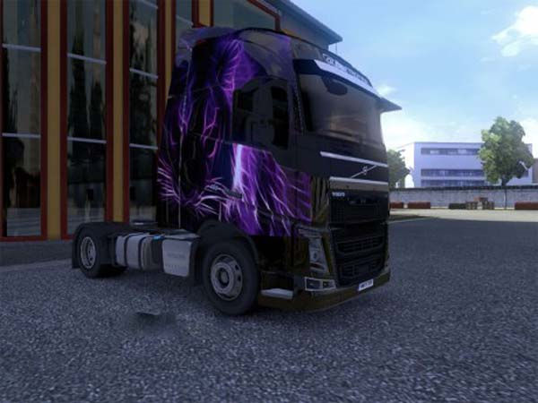 Volvo 2012 HD Purple Tiger