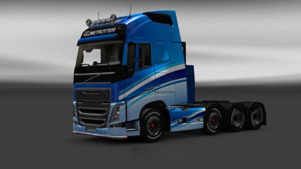 Volvo FH 2012 Blue Skin