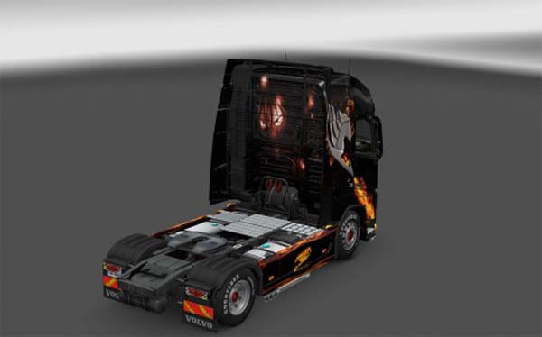 Volvo FH 2012 Fairy Tail skin