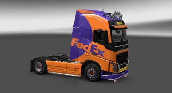 Volvo FH 2012 Fedex Skin