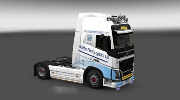 Volvo FH 2012 Humber Ports Logistics Skin