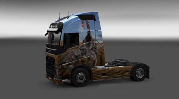 Volvo FH 2012 Scorpion Skin